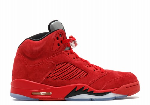 timeless design fabbd 92e1d Air Jordan V(5) Red Suede-124